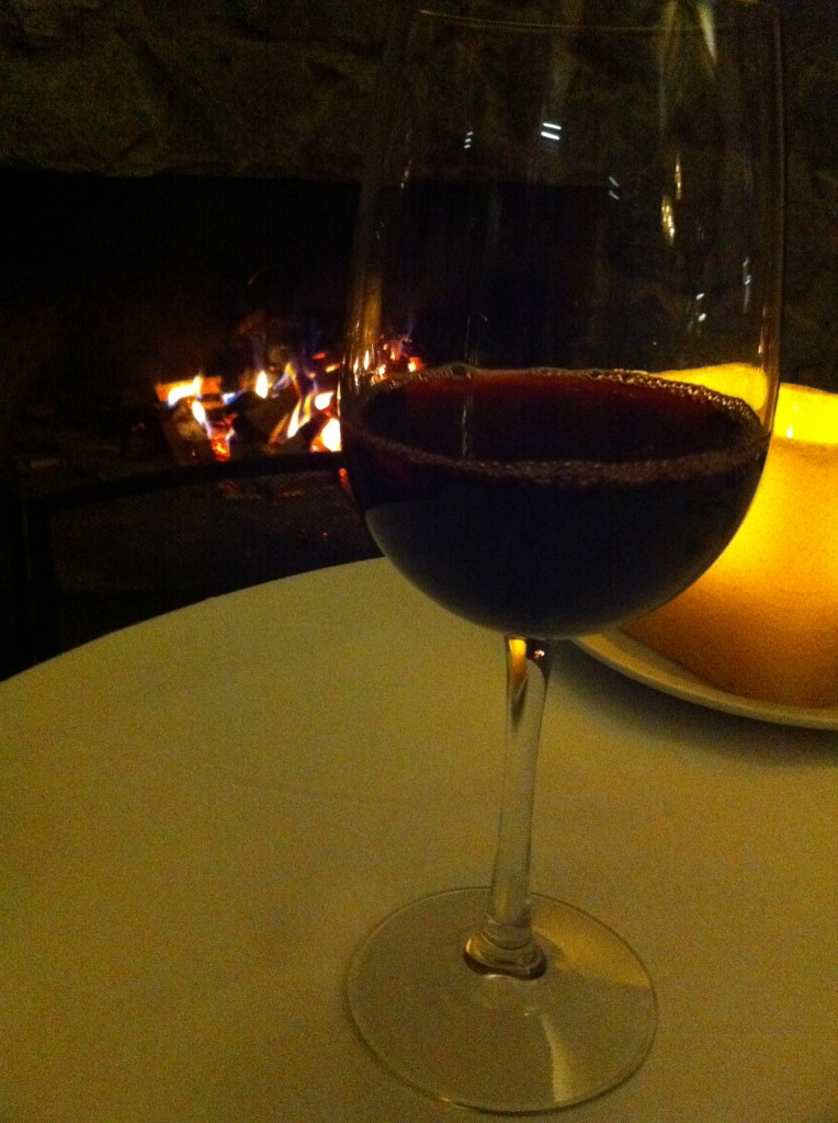 El Silencio Wine by the Fire