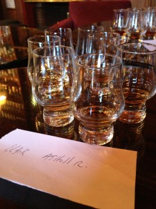 Torridon Whisky Tasting