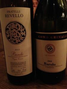 Barolo Wine Bella