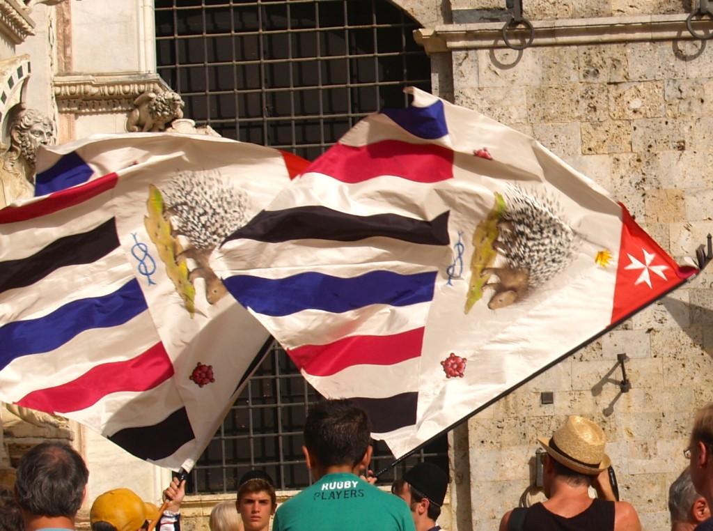 Contrade Flag