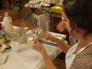 Leah Mask Making