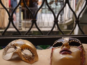 Becky and Leahs Venetian Masks