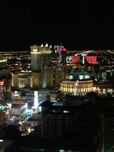 Vegas from The High Roller