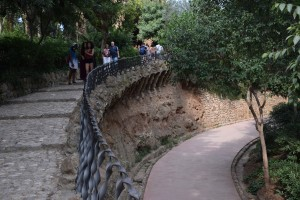 Park Guell Staircase