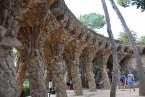 Park Guell Ramp
