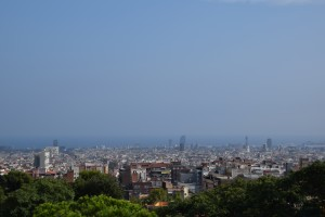 Park Guell View