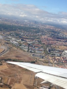 Madrid By Plane
