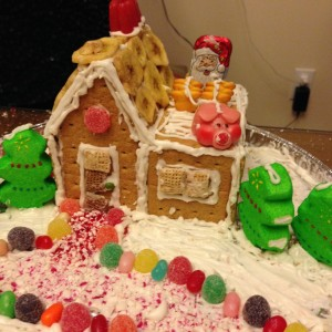 Chopped Gingerbread Edition House 3