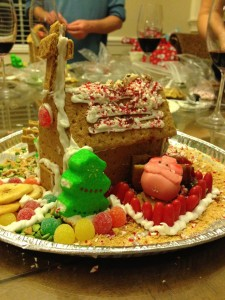 Chopped Gingerbread Edition House 2