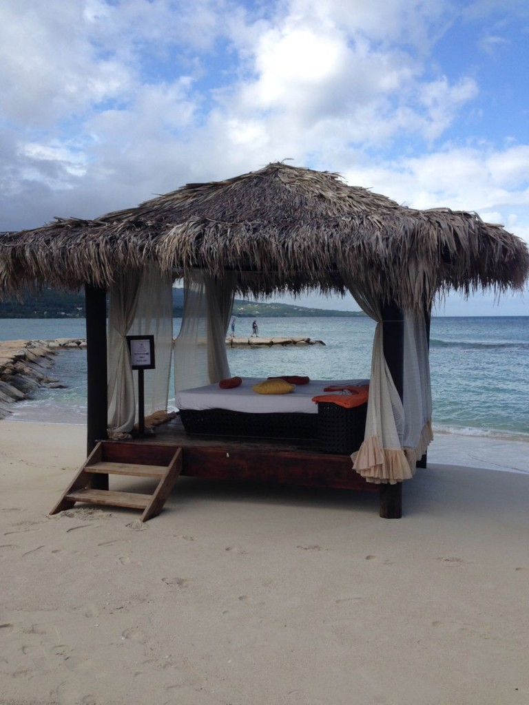 Secrets Jamaica Preferred Club Beach Hut