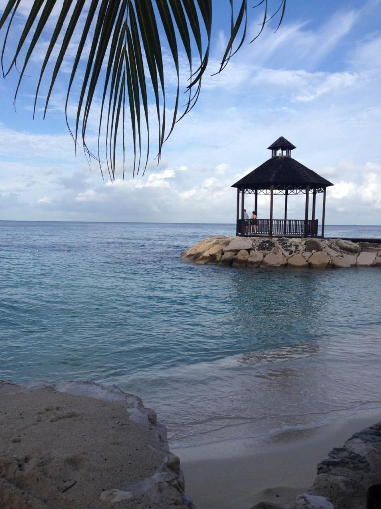 Secrets Jamaica Wedding Gazebo