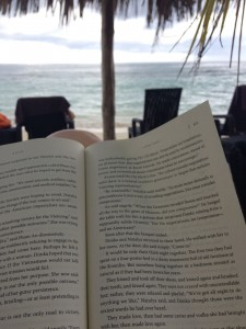 Bella Travel Reading on the Beach