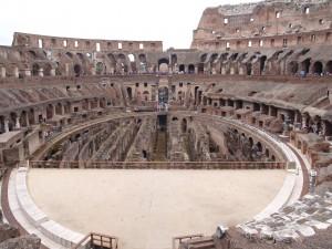 Colosseum Rome Inside