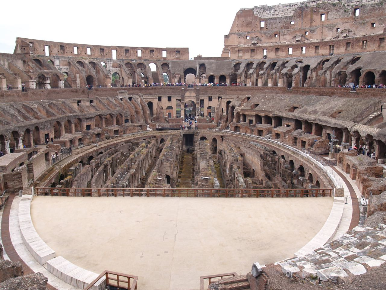 New Colosseum Security Procedures in Rome.