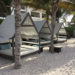 Secrets Silversands Beach Bed