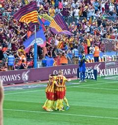 FC Barcelona Celebration