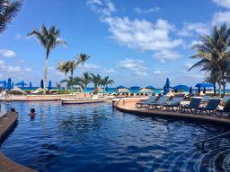 Ritz Carlton Cancun Pool