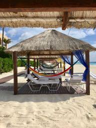 Ritz Carlton Cancun Beach Cabana