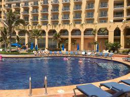 Ritz Cancun Pool Bella Travel