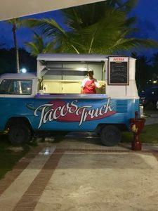 Sanctuary Cap Cana Taco Truck