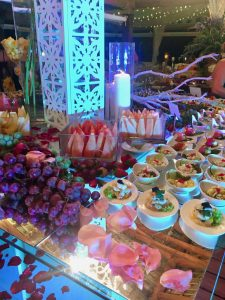 Sanctuary Cap Cana Food Display