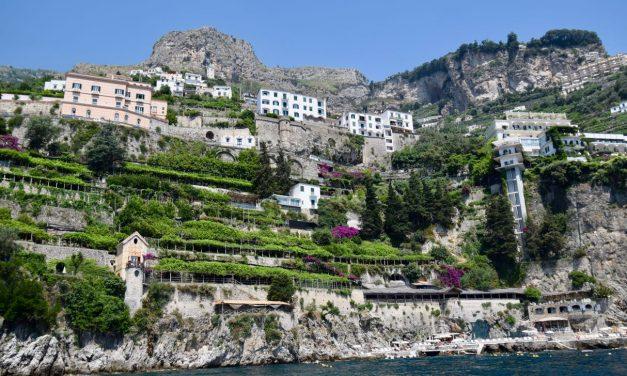The Arm Chair Traveler:  Boating on the Amalfi Coast