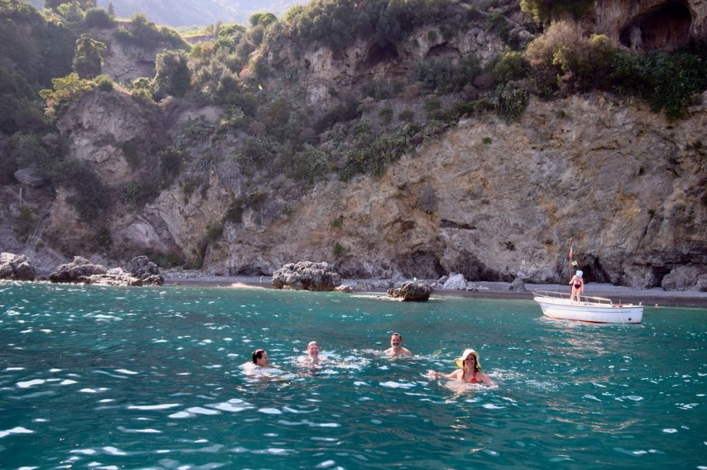 Swimming in the Mediterranean