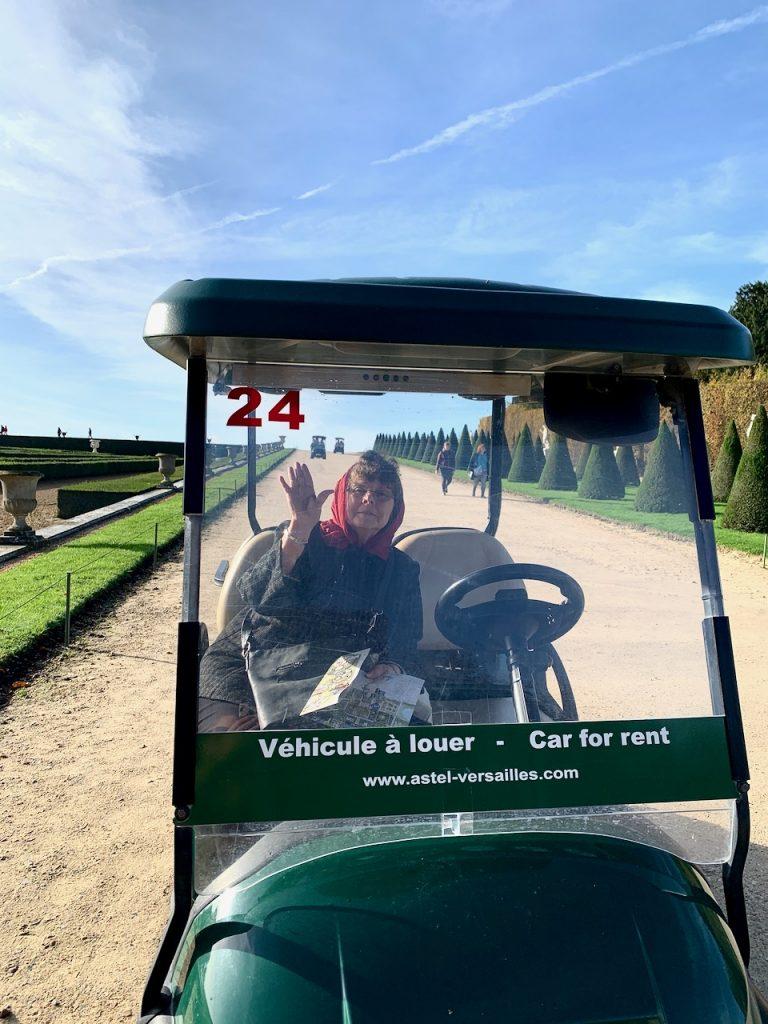 Versailles Golf Cart