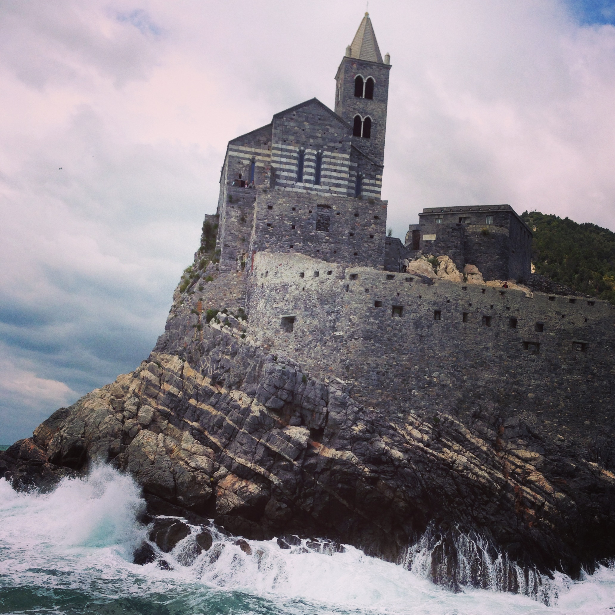 Portovenere's Dramatic Entry